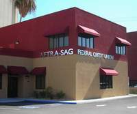 next to the AFTRA SAG Credit Union