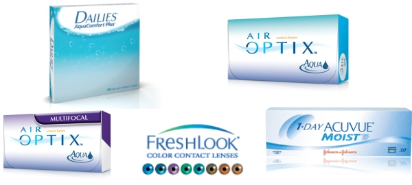 contact lenses at StudioEyes Optometry