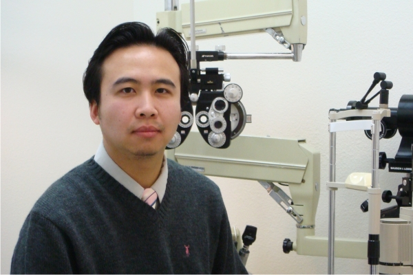 optometric eye doctor Philip Do